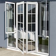 modern french doors tempered glass swing door