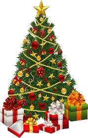 christmas tree with presents and lights clip art. 28 Collection Of Christmas Tree With Gifts Clip Art High Quality For Presents And Lights