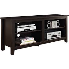 Tv Stand Wood Tv Stand For Tvs Up To 60 Multiple Finishes Walmartcom