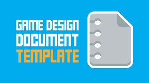 Game Design Document Template Game Design Document Template One Page Super Easy