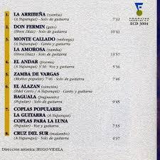 Folklore del NOA: ATAHUALPA YUPANQUI - La Palabra y el Canto Vivo de ATAHUALPA  YUPANQUI en diálogos con Julio Márbiz - Fonovisa Argentina CD Nº ECD 3004  (1997)