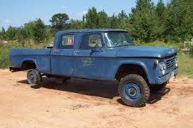 1964 dodge w200 power wagon 4x4 crew cab military pickup 4 door ebay