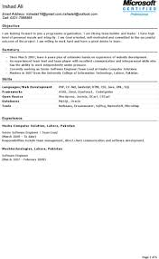 6 Software Engineer Resume Templates Free Download