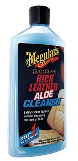 meguiar s meg rich leather aloe cleaner