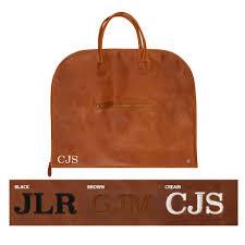 classic leather garment suit carrier