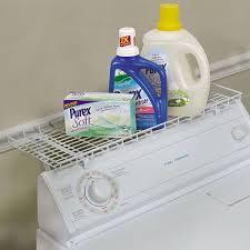 Washer Dryer Shelf Amazoncom Household Essentials 05100 Over The Washer Storage