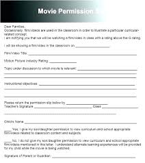 Permission Slip Forms Template Free Child Travel Consent Form Template Org Sample