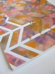 canvas geometric lines
