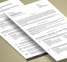 Resume 2 Pages Unique Minimalist Resume 48 Pages Word Etsy