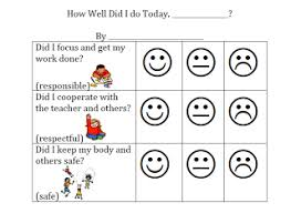 Preschool Behavior Charts Printable Printable