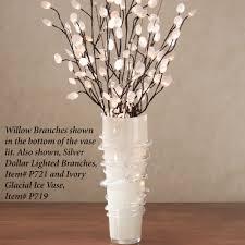 tall vase lighting garden. Vase Lighting Ideas. 40 Inch Floor Vases White Mitsumata With Black Branches In Fillers Tall Garden O