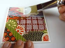 Decorating Tiles Crafts How to Make Coasters Warning Read this before you make ceramic 3