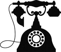 Resultado de imagem para clipart telefone antigo