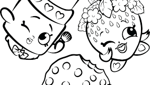 Apple Blossom Shopkin Coloring Page Coloring Pages To Print Free