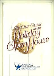 Holiday Open House Invitations Kepooin Co