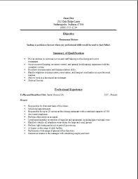 Waitress Skills For Resume Resumes For Waitresses Waitress Skills Resume Servers Creer Pro