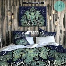 elephant sheets twin bed quilt