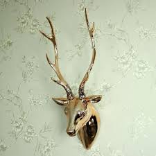copper stag head wall decoration stag head wall decorations and copper stag head wall decoration wooden