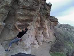 table rock traverse wall climbing