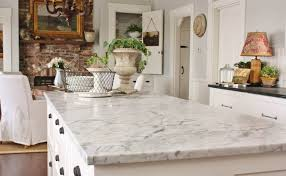 image of honed marble countertop kitchen