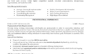 Great Pharmaceutical Sales Resume Writers Contemporary Example