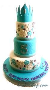 Frozen Theme 3 Tier Birthday Cake 2kg Sri Lanka Online Shopping