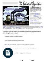 industrial revolution essay industrial revolution wealth industrial revolution pdns