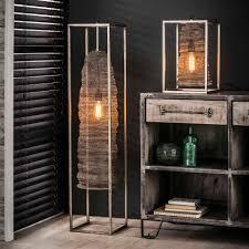 Tafellamp Maze Cube Hangend Wood It Nice Rechthoekige Industriele