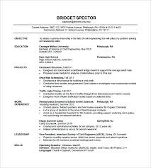 Sample Resume Format For Civil Engineer Fresher Editable Resume For
