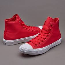 converse 2 mens. mens shoes - converse chuck taylor all star ii salsa red/white/navy 2