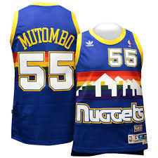 Image result for 1990s nuggets jersey
