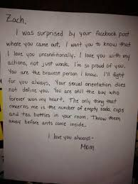 letters that will melt your heart 1 a mother writes to her son after he came out on facebook