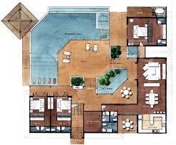Modern 2 Bedroom Apartment Floor Plans Resort Style Residential Floor Plans Floor Plans Angthong Hills