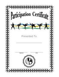 martial arts certificate template certificate of martial arts participation certificate templates