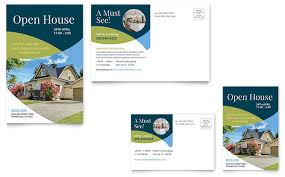 for sale by owner brochure for sale by owner postcard template design