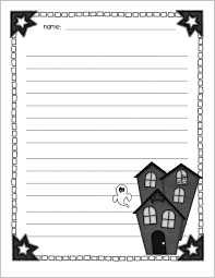 free halloween stationery templates halloween creative writing paper kellytammy shawnmcclondon com