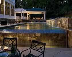 Pool Designs With Infinity Edge Zero Edge Klein Custom Pools .