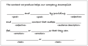 Template Of Statement Keep Your Content On Strategy With This Single Statement
