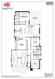 Narrow Home Plans Designs Mauritius Easystart Home Designs Perth Narrow House