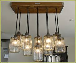 edison light chandelier diy