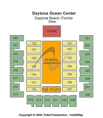 Ocean Center Seating Chart Daytona Beach Ocean Center Tickets Daytona Beach Ocean