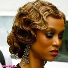 makeup great gatsby 20s style hair finger waves