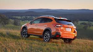 2018 subaru pickup. brilliant pickup 2018 subaru xv 20is orange rear end u2013 chasing cars to subaru pickup