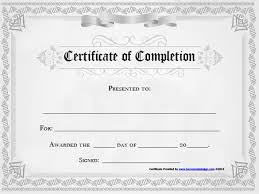 Microsoft Word Certificate Of Completion Template Microsoft Word