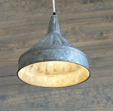 galvanized lighting. Contemporary Galvanized Light Fixtures Modern Farmhouse Lighting With  Pendant Funnel Gooseneck Galvanized Lighting O