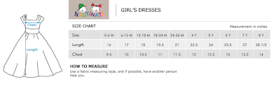 Tea Collection Size Chart 63 Curious Girls Dress Sizing Chart