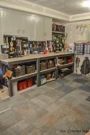garage organization work workbench diy wood