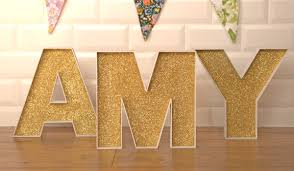 how to decorate fillable wooden letters