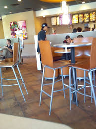 photo of taco bell porterville ca united states round table with booth
