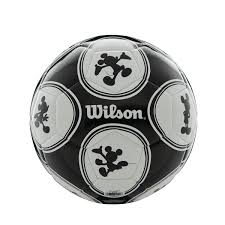 disney mickey mouse size 3 soccer ball silhouette wilson sporting goods